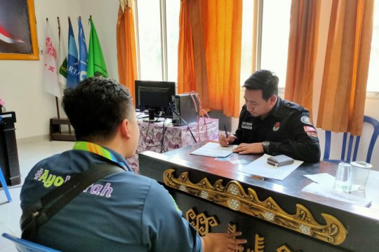 KPU Bandarlampung lakukan sinergitas ke Polda Lampung