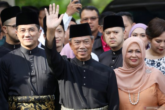 Muhyiddin Yassin ditunjuk jadi  PM Malaysia ke-8