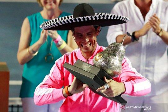 Tenis Meksiko Terbuka: Nadal raih gelar ketiga kalinya