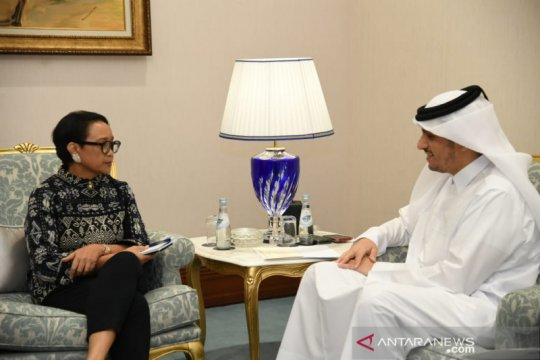 Menlu lakukan enam pertemuan bilateral di sela-sela kunjungan ke Doha