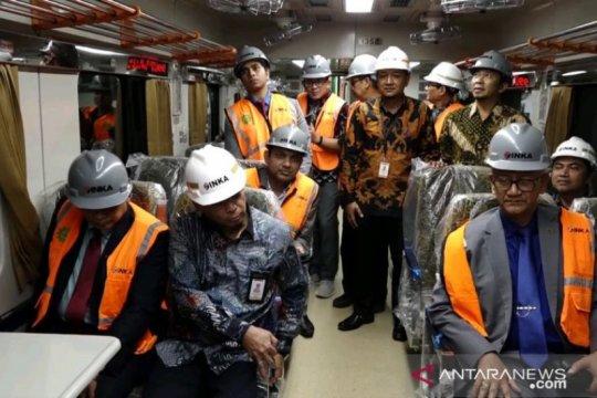 Menteri Perkeretaapian Bangladesh tinjau pembuatan kereta PT INKA