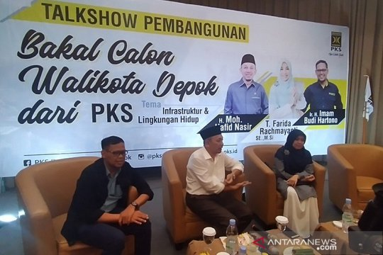 PKS Depok paparkan konsep membangun Depok lima tahun kedepan