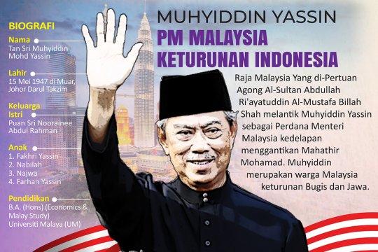 Muhyiddin Yassin, PM Malaysia keturunan Indonesia