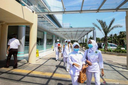 Kasus positif COVID-19 pertama di Indonesia penularan tanpa bergejala