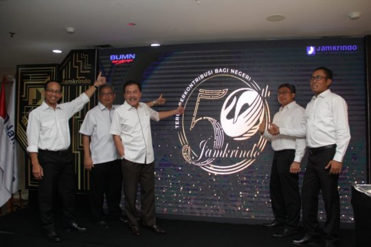 Berubah jadi PT, Jamkrindo luncurkan logo HUT Ke-50