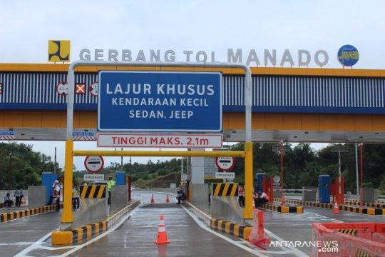 26 kilometer ruas tol Manado-Bitung beroperasi April 2020