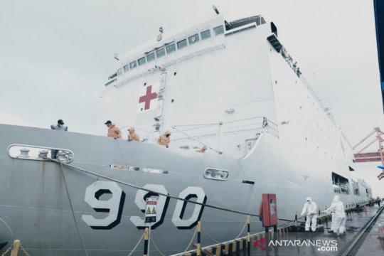 Menteri: 69 WNI ABK dari Jepang tinggal sementara di KRI dr Soeharso