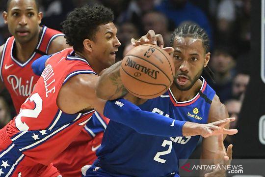 NBA:  Clippers kalahkan 76ers 136 -130