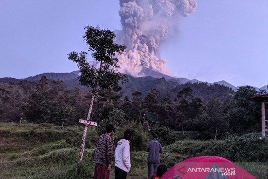 Kementerian ESDM rekam kronologi letusan Gunung Merapi