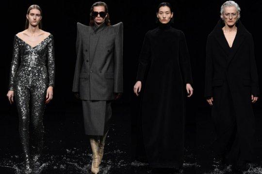 "Balenciaga bikin banjir buatan di ""runway"" Paris Fashion Week"