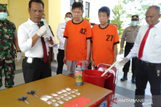 Polres Singkawang musnahkan narkoba hasil tangkapan dari WN Malaysia