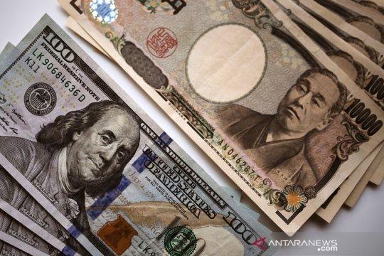 Menguat, dolar AS diperdagangkan pada kisaran 104 yen di Tokyo