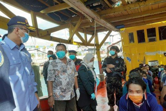 KKP tangkap 5 kapal ikan asing di Laut Natuna Utara