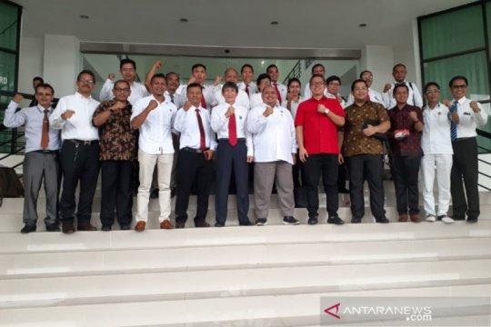 Peradi-DPRD Kota Bogor bicarakan kemungkinan kerja sama