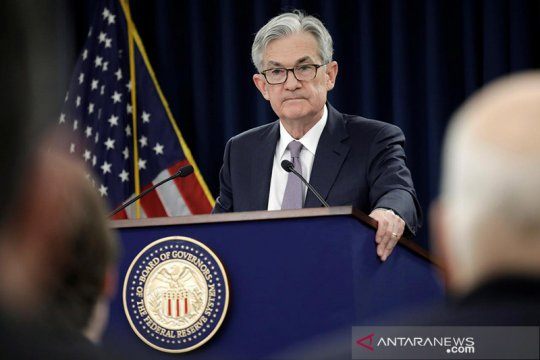 Fed tahan suku bunga dekati nol, diproyeksikan tak berubah hingga 2022
