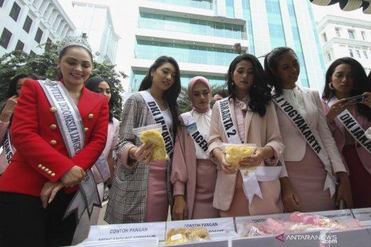 Finalis Puteri Indonesia 2020 dikukuhkan sebagai Duta Kosmetik Aman