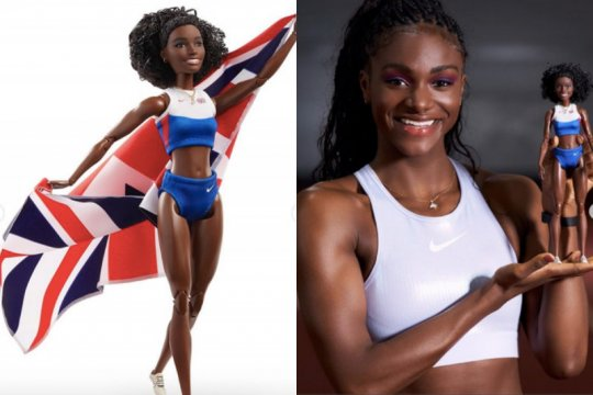 Barbie edisi spesial, terinspirasi pelari Dina Asher-Smith