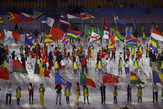 Ketentuan baru IOC: pembawa bendera harus satu pria, satu wanita