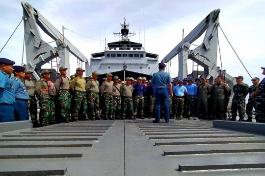 """Gabungan pasukan elit TNI AL berpartisipasi di """"Garuda Di Lautku"""""""