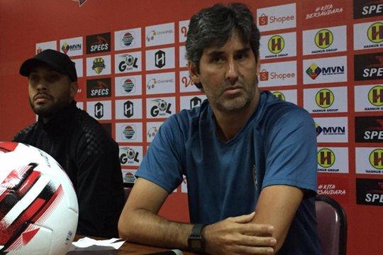 Pelatih Bali United ingatkan pemain soal berat badan