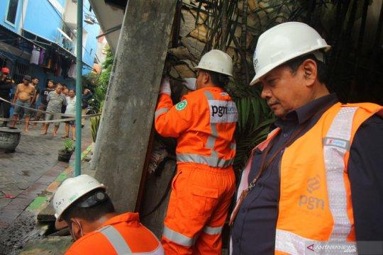 Gerak cepat PGN atasi kebocoran pipa jargas di Surabaya