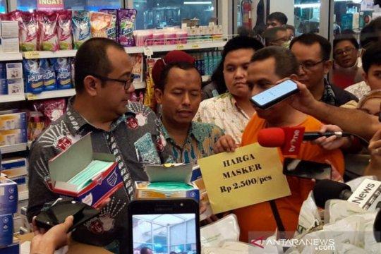 Pasar Jaya minta masyarakat tidak panik soal ketersediaan stok masker