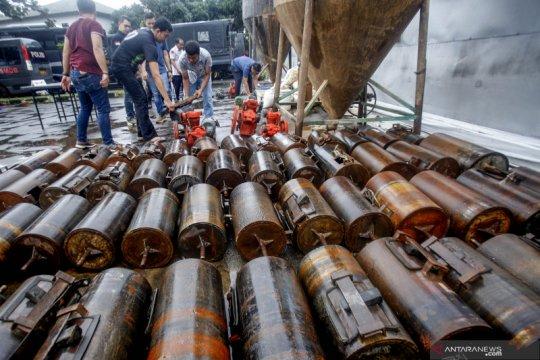 Pengungkapan kasus tambang emas ilegal di Bogor