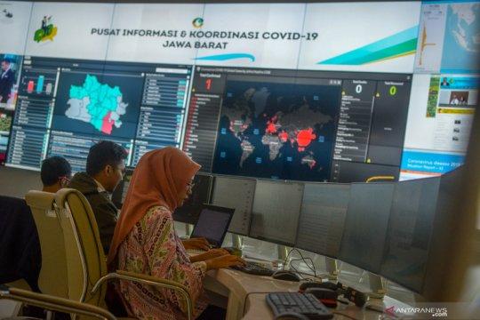 Pusat informasi dan koordinasi COVID-19 di Bandung
