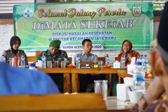 Pemkot Banda Aceh sosialisasikan pola hidup sehat, cegah wabah corona