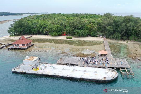 Pemindahan WNI ABK Diamond Princess ke Pulau Sebaru Kecil