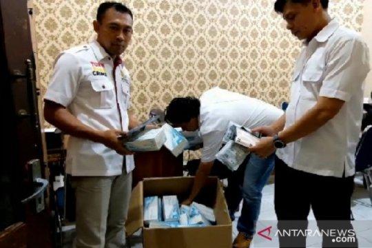 Polres Madiun amankan 40 boks masker hasil penimbunan