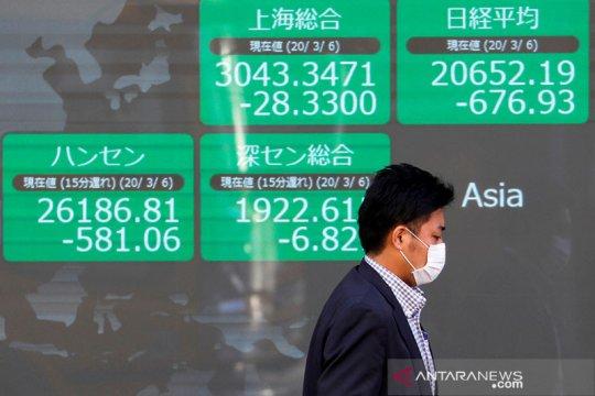 Saham Tokyo dibuka merosot saat ambil untung setelah Wall Street jatuh