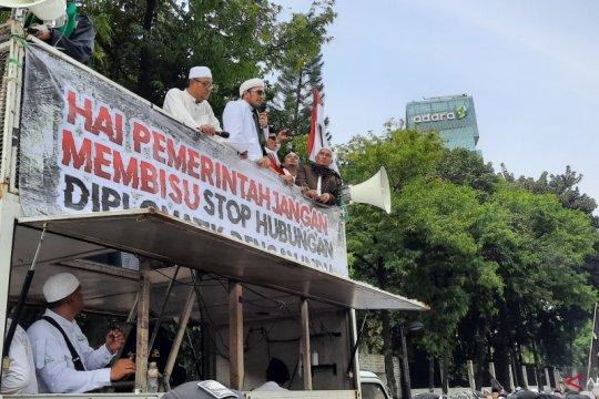 Massa aksi desak Pemerintah India hentikan persekusi terhadap Muslim