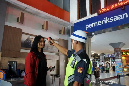 KAI Daop 6 Yogyakarta ketatkan protokol kesehatan penumpang