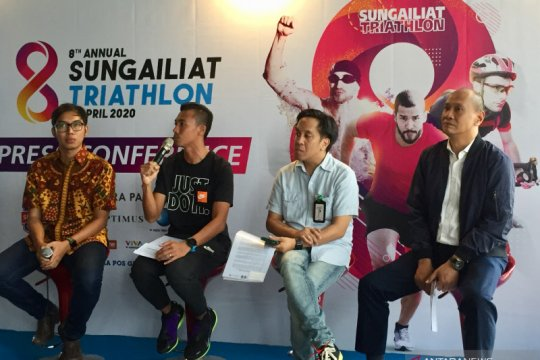 Jauhari Johan siap bertanding di Sungailiat Triathlon 2020