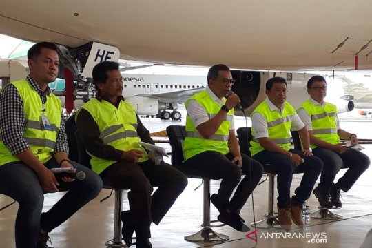 GMF: Puluhan pesawat Garuda dan Citilink telah disinfeksi cegah Corona