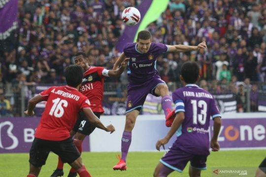 Pelatih Bhayangkara FC masih kesal dengan kejadian penalti