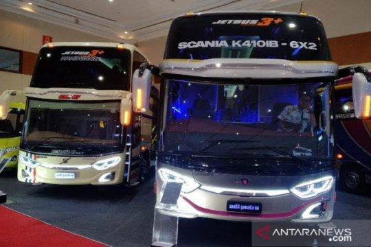 PO SAN pakai empat Jet Bus 3+ Voyager buatan karoseri Adiputro
