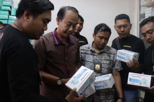 Polisi datangi tiga apotek dan distributor masker di wilayah Denpasar