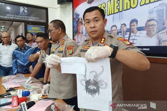Kartun horor jadi petunjuk motif pembunuhan anak di Sawah Besar