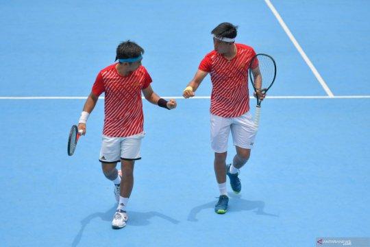 Play off Piala Davis : Pasangan Christopher Rungkat dan David Susanto menang