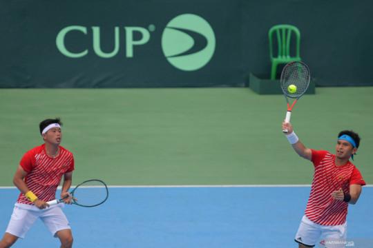 Indonesia tanpa Christo dan David saat melawan Barbados di Davis Cup