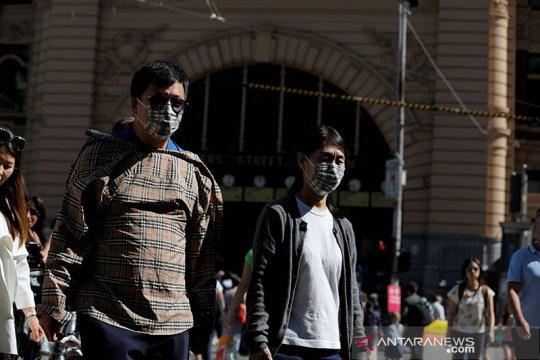 Melbourne wajibkan masker saat kasus COVID-19 Australia meningkat