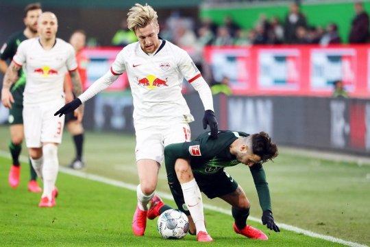 Ringkasan Liga Jerman: Leipzig terjegal lagi, Bayern di ambang untung