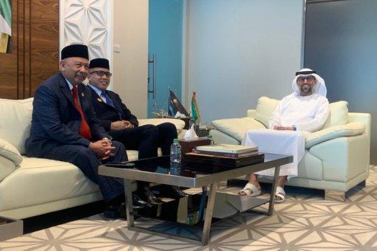 Gubernur Aceh ke Abu Dhabi bicarakan realisasi Investasi UEA