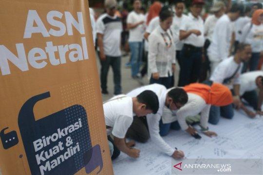 KASN-Bawaslu Makassar deklarasi netralitas ASN pada Pilkada 2020