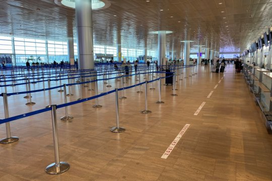 Hindari roket, sejumlah maskapai batalkan penerbangan ke Israel
