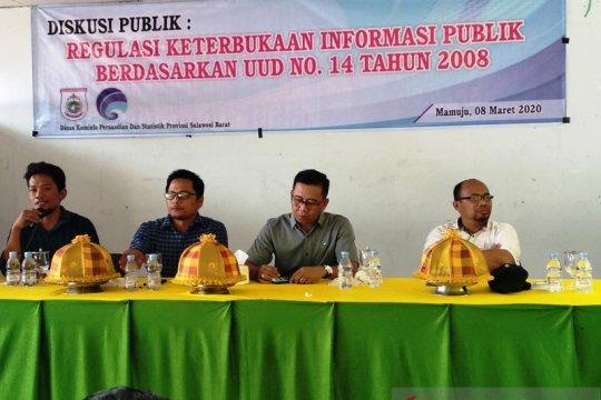 Komisi Informasi Sulbar tangani 109 sengketa informasi
