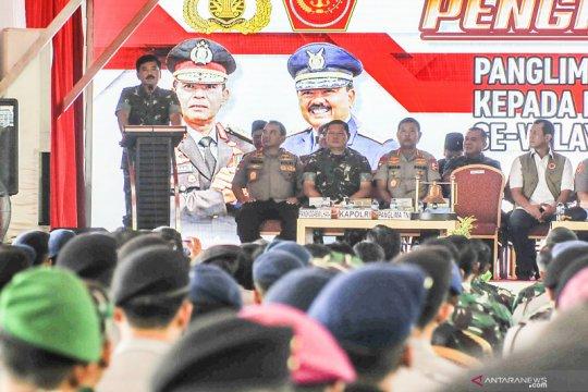 Kunjungan Panglima TNI dan Kapolri ke Pulau Galang