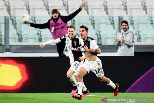 Juve kembali rebut pucuk klasemen usai menangi laga tunda kontra Inter